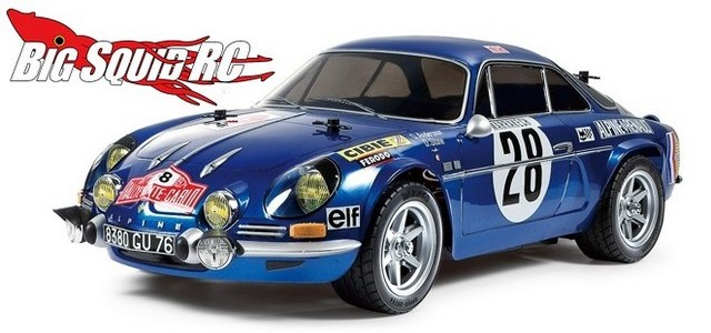 tamiya renault alpine a110 71 m06 monte carlo big squid rc rc car and truck news reviews. Black Bedroom Furniture Sets. Home Design Ideas