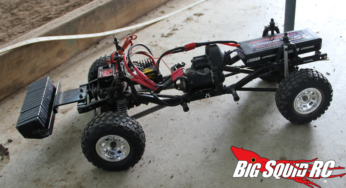 Axial Scx10 Pulling Truck 171 Big Squid Rc Rc Car And