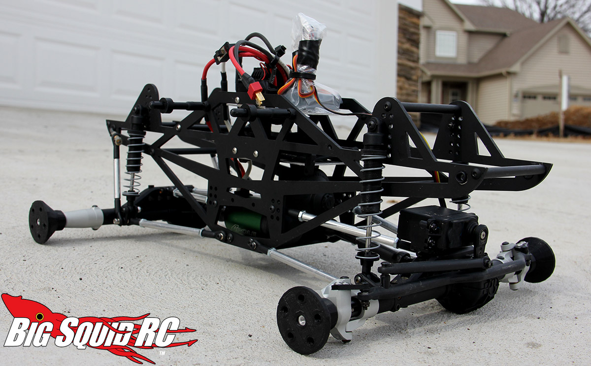 rc cars to build yourself with Axial Deadbolt Mega Truck Conversion Part 3 on Team Losi 8ight E 4 0 4wd Electric Buggy also 2014 Traxxas Slash 4x4 in addition Products likewise Build It Yourself Baja 5b Ss Gets Rev ed together with Simple Homemade Go Kart Set In Motion By A Drill Motor See How Its Done Build One For Your Kids.