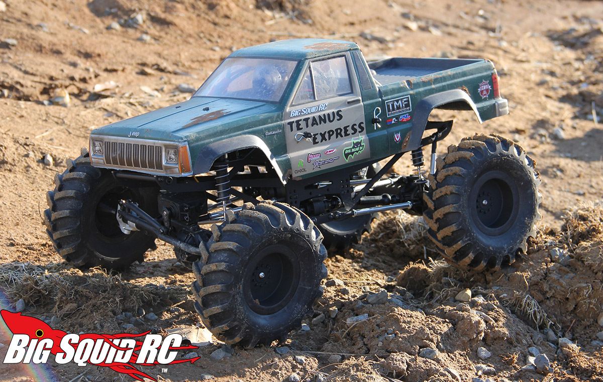 Axial Deadbolt Mega Truck Conversion Part 3 171 Big Squid