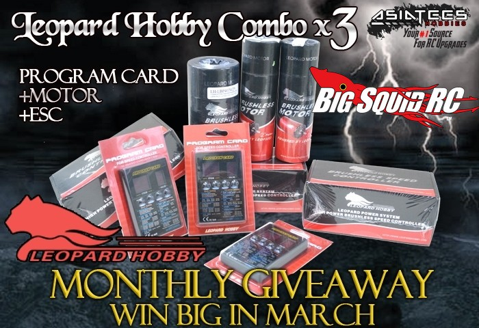 AsiaTees Leopard Brushless Giveaway