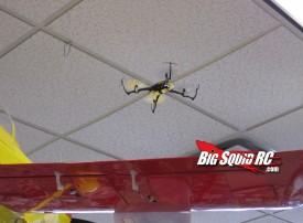 Blade Nano QX dodging hangar queen