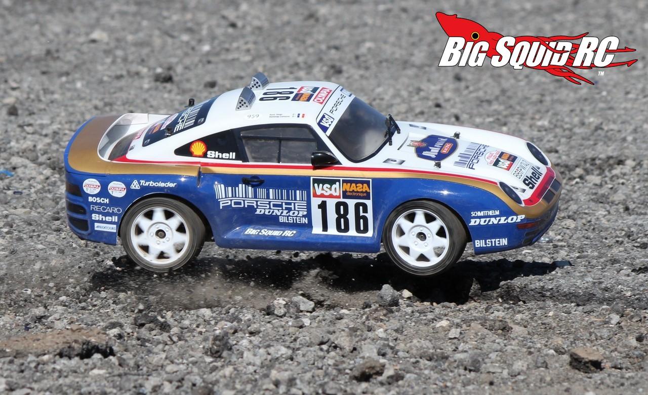 Review Carisma M48s Porsche 959 Rtr Rally Car Big Squid Rc