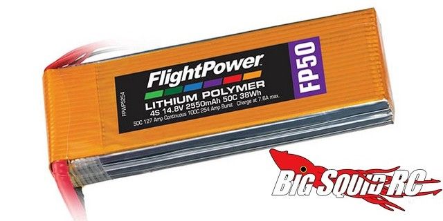 FlightPower FP Series LiPo Batteries