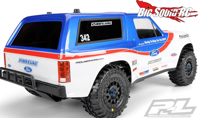 Pro Line 1981 Ford Bronco Clear Body 171 Big Squid Rc Rc