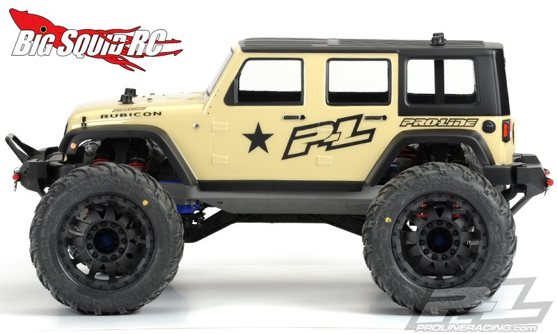 rc 4x4 monster trucks with Pro Line Jeep Wrangler Unlimited Rubicon Clear Monster Truck Body on A Lamborghini Urus 6x6 Would Make That besides 231920612114 also 292181920915 additionally Scale Accessory Assortment 8 besides Feiyue Fy03 Eagle 3 112 2 4g 4wd Desert Off Road Truck Rc Car.