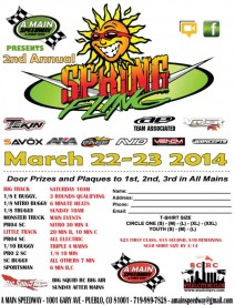 A-Main Speedway Spring Fling 2014