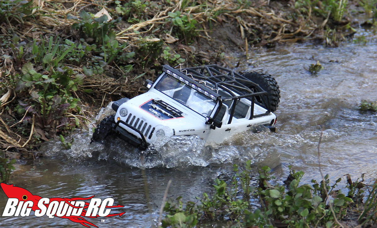 Review Axial Scx10 Jeep Wrangler Unlimited C R Edition