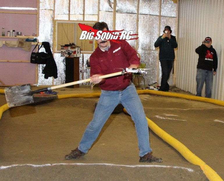 Cubby Quadcopter Shovel