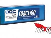 Dynamite Reaction 80C LiPo Packs