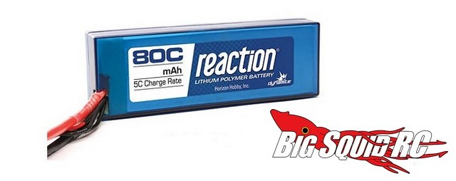 Dynamite Reaction 80C LiPo Packs