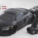 Kyosho FAZER VE Audi R8 Matte Black