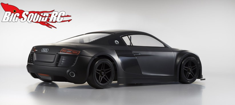 Kyosho Fazer Ve Audi R8 Matte Black Readyset 171 Big Squid