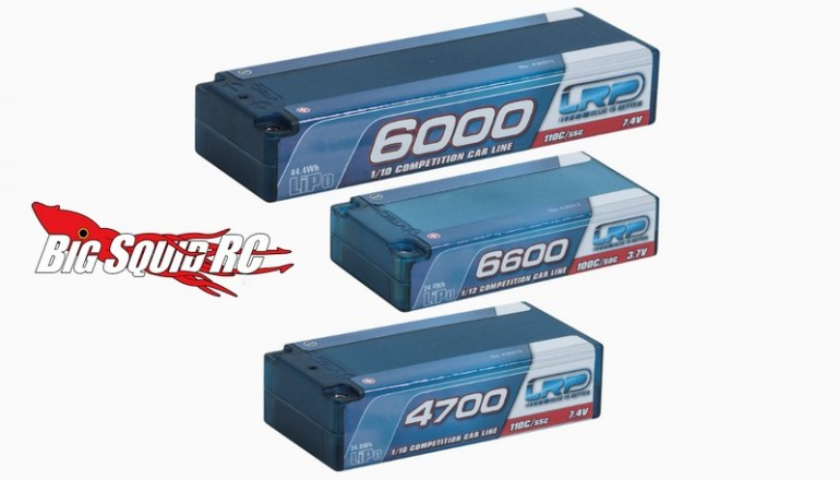 LRP Competition LiPo batteries