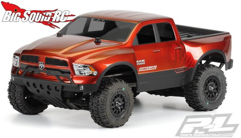 Tim Short Dodge >> Pro-Line 2013 Ram 1500 True Scale Clear Body « Big Squid RC – RC Car and Truck News, Reviews ...