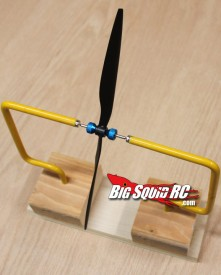 Propeller Balancing Vertical