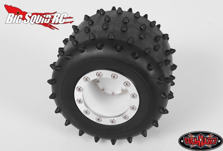 RC4WD Twisted Monster Truck Spiked Tire Tamiya
