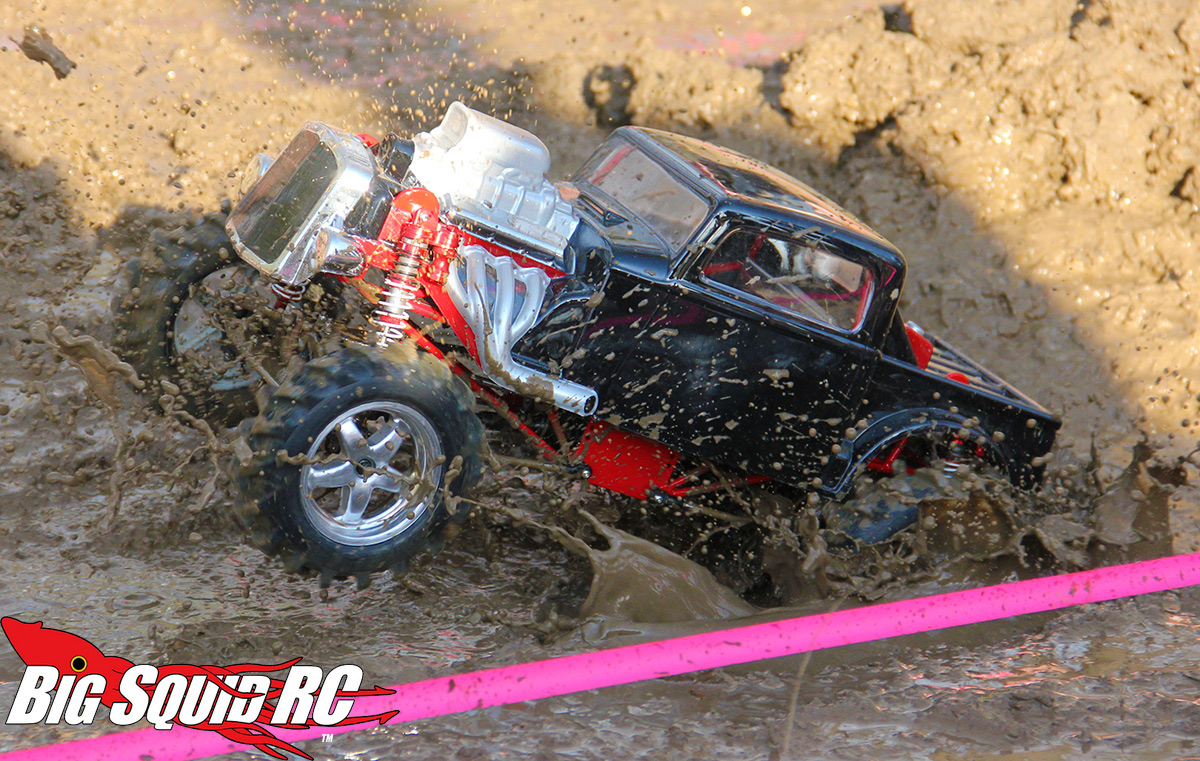 event coverage mega truck mud race  axial iron mountain depot recon  big squid rc rc