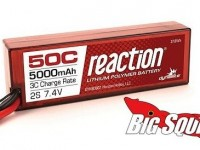 Dynamite Reaction 50C Hardcase LiPo