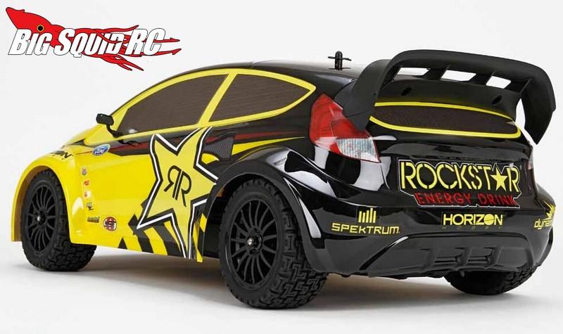 Vaterra 1 10 Rockstar Energy Ford Fiesta Rallycross 4wd