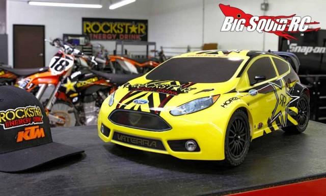 Vaterra Rockstar Ford Fiesta Rally Car