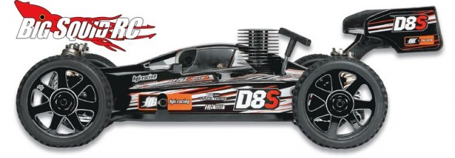 HPI Racing D8S Nitro Buggy