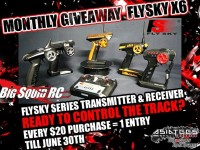 AsiaTees Hobbies June Giveaway Flysky