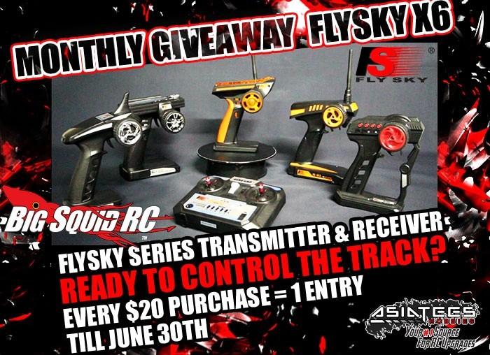 AsiaTees Hobbies June Giveaway Flysky