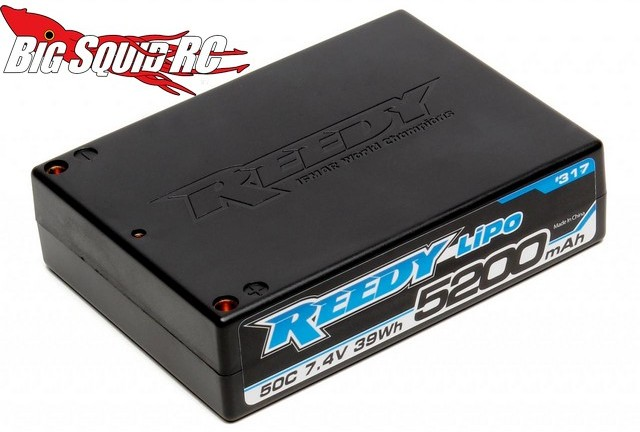 Reedy 5200mAh 50C 7.4V SQ LiPo Battery
