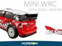 Losi 1/5 MINI WRC 4WD Rally Car Video