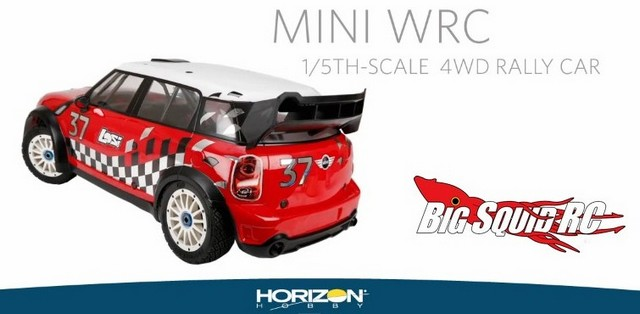 Video Losi 15 Mini Wrc 4wd Rally Car With Avc Big Squid Rc Rc