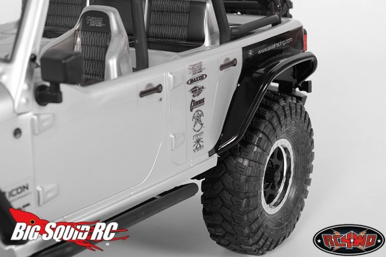 RC4WD Aluminum Tube Rear Fender Axial Jeep Rubicon