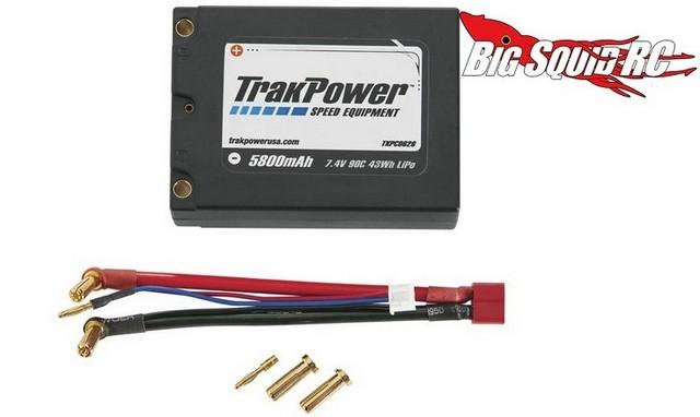 TrakPower LiPo 2S 7.4V 5800mAh 90C