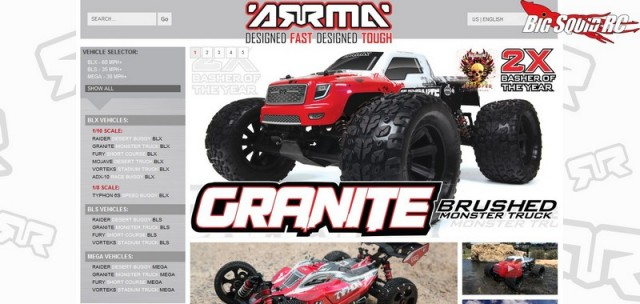 ARRMA RC Website