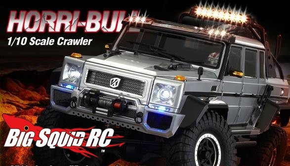 Killerbody Rc Horri Bull 1 10 Crawler Body 171 Big Squid Rc