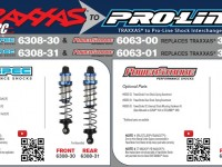 Traxxas to Pro-Line Shock Guide