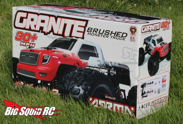 Unboxing ARRMA Granite Mega Series