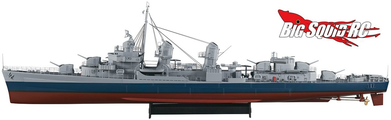 AquaCraft 1/72 US Fletcher Class Destroyer ARR « Big Squid ...
