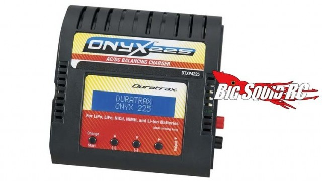 duratrax onyx 225 battery charger