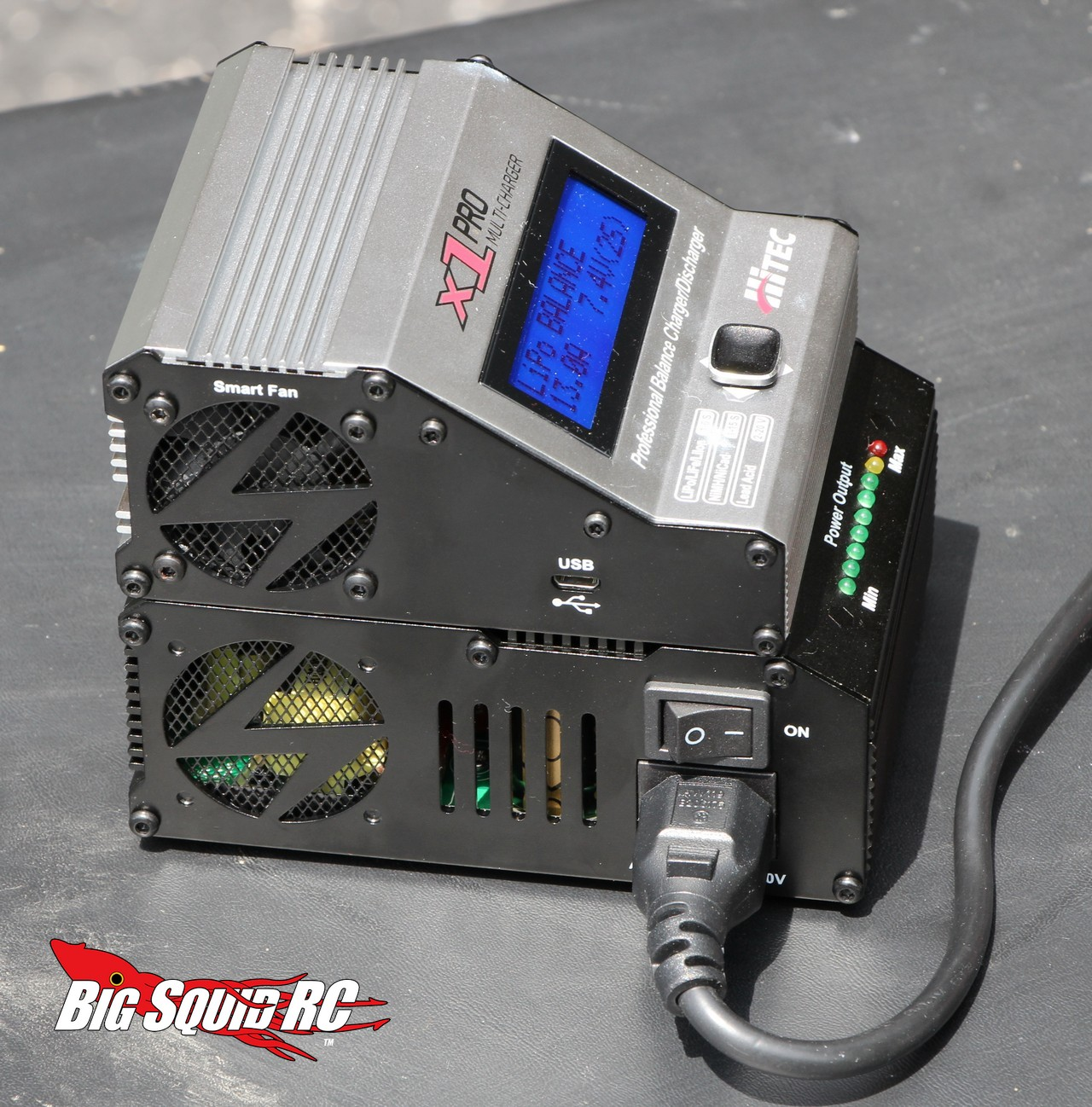 Car Battery Voltage >> Review – Hitec X1 Pro Battery Charger « Big Squid RC – RC ...