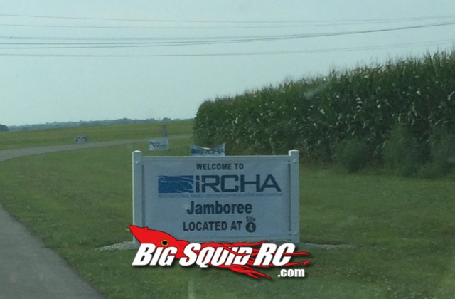 IRCHA Welcome Sign