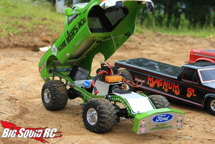 """Here's a body up shot of the """"Stroker's Ace"""" JAWS chassis'd modified diesel puller."""