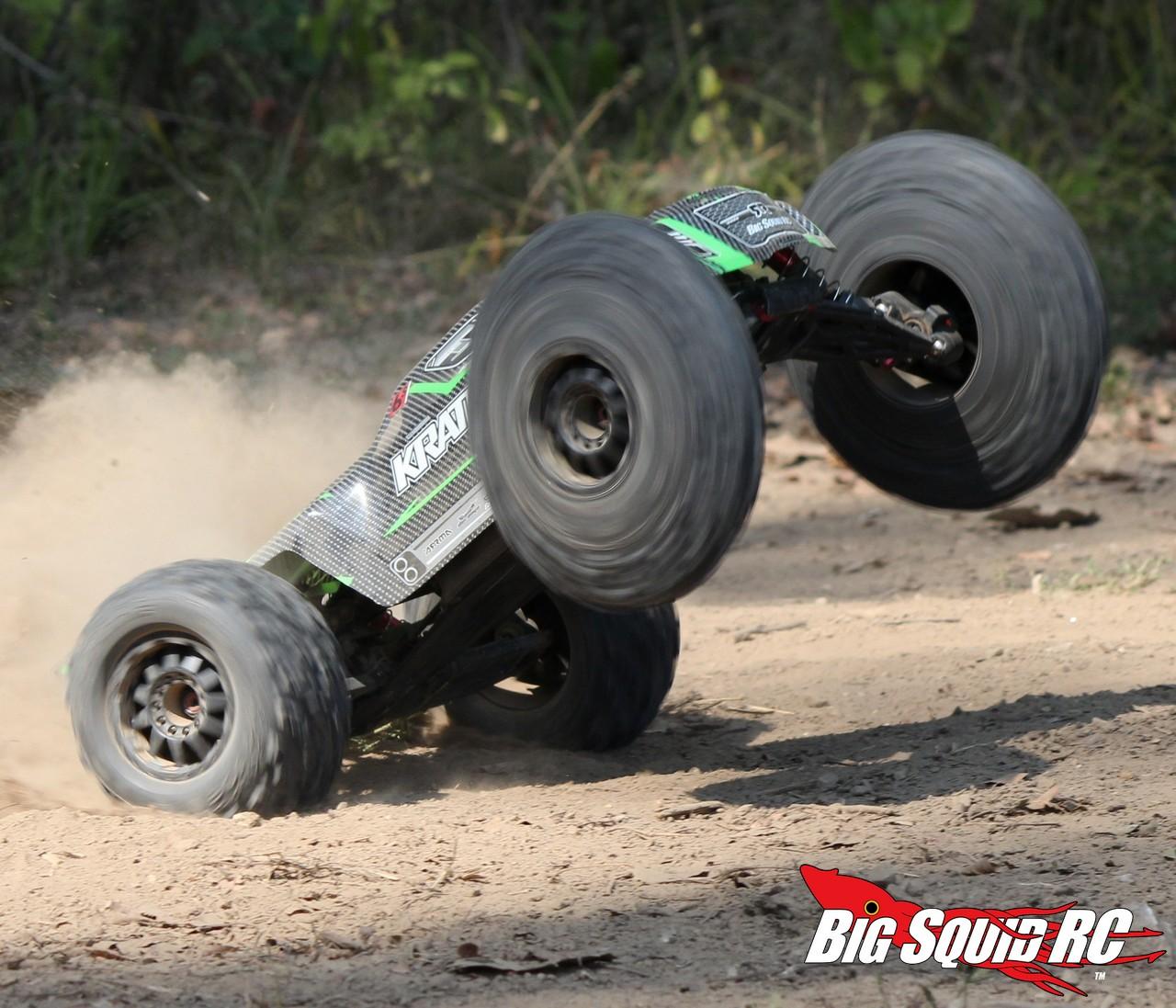 Rc Car Batteries >> Product Spotlight – ARRMA Kraton BLX 1/8 Monster Truck Mini-Review « Big Squid RC – RC Car and ...