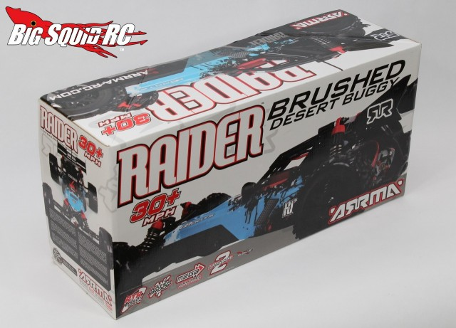 ARRMA Raider Mega Series Unboxing