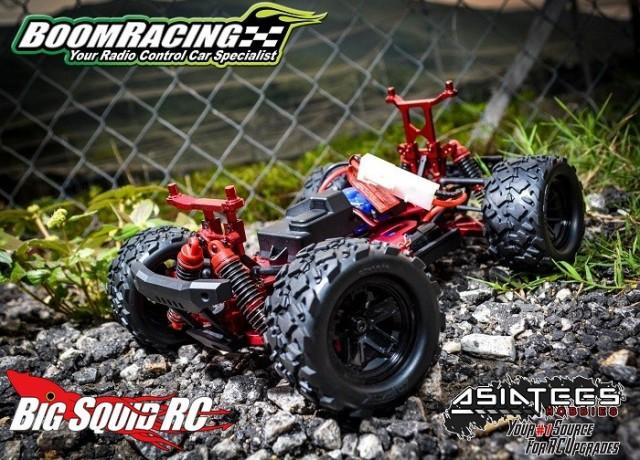 Boom racing aluminum upgrades latrax