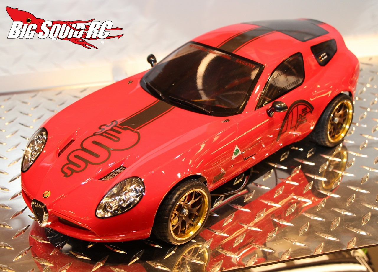 Killerbody RC Alfa Romeo TZ Corsa Big Squid RC RC Car And Truck - Alfa romeo tz3 corsa