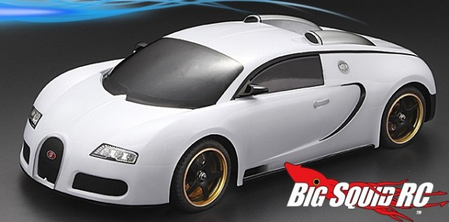 matrixline bugatti veyron clear body big squid rc news reviews videos. Black Bedroom Furniture Sets. Home Design Ideas