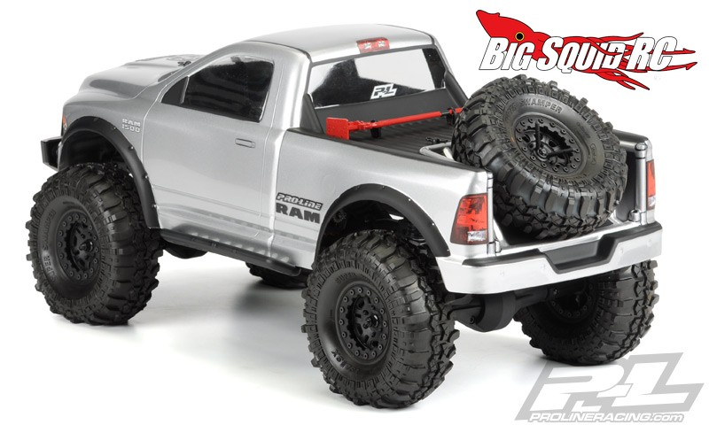 Ram 1500 Fender Flares >> Pro-Line RAM 1500 Clear Crawler Body « Big Squid RC – RC Car and Truck News, Reviews, Videos ...