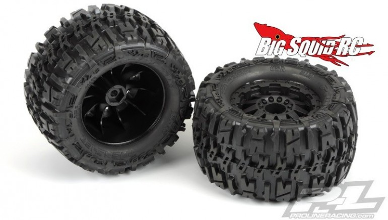 Pro-Line Trencher 2.8 F-11 Pre-mounted