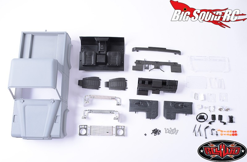 Rc4wd Land Rover Defender D90 Pick Up Truck Plastic Body